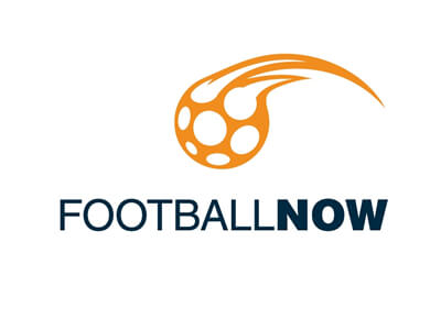 Football Now soccer logo design