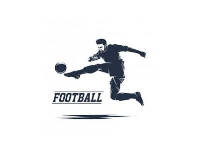 Custom Football logo design