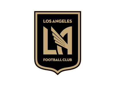 LA football logo design