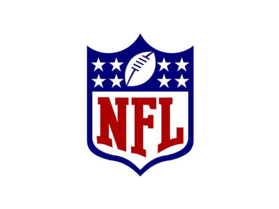 NFL football logo design