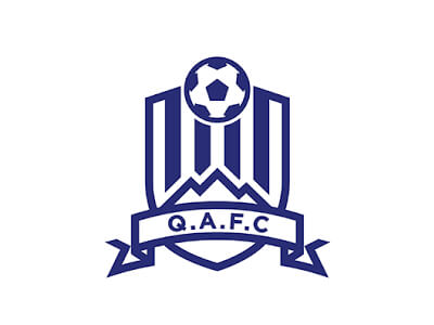QAFC football logo design