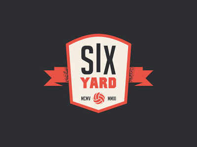 Six football logo design