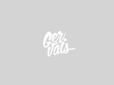 Gerejals font logo design