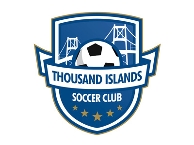 Thousand football logo design