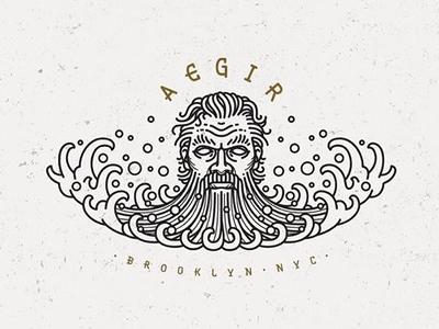 AEGIR Residential Real Estate Logo Design