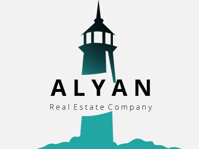 Alyan Commercial Real Estate Logo Design