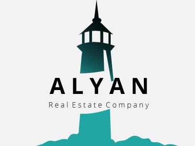 Alyan Commercial Real Estate Logo Design