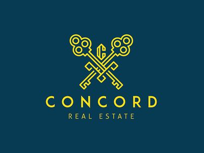 Concord Commercial Real Estate Logo Design