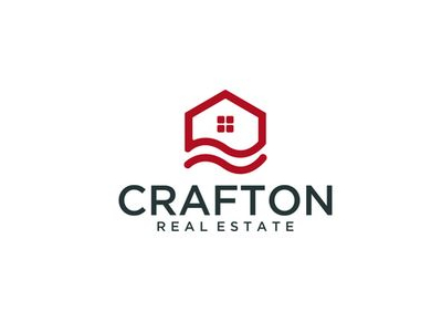Crafton Commercial Real Estate Logo Design
