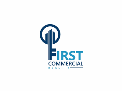 First Commercial Real Estate Logo Design