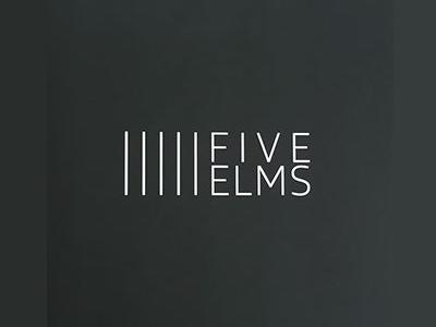 FiveElms Commercial Real Estate Logo Design