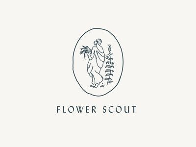 Flower scout Residential Real Estate Logos