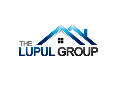Lupal Group Commercial Real Estate Logo Design