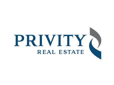 Privity Commercial Real Estate Logo Design