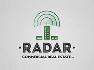 Radar Commercial Real Estate Logo Design