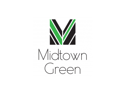 Midtown Green Real Estate Logo Designs