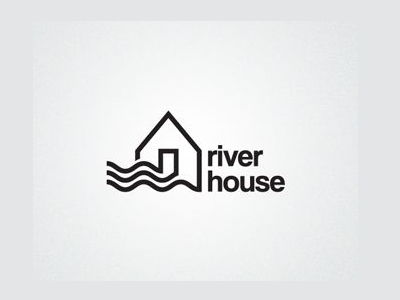 River House Real Estate Logo Designs