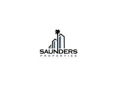 Saunders Commercial Real Estate Logo Design