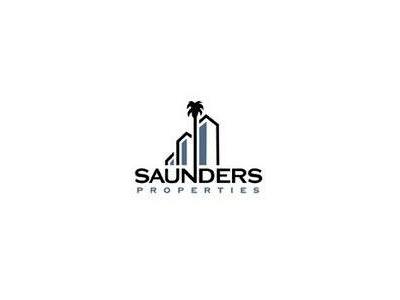Saunders Commercial Real Estate Logo Design