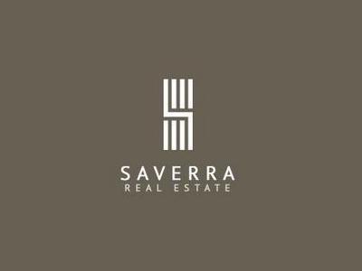 Saverra Commercial Real Estate Logo Design