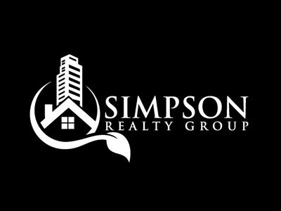 Simpson Commercial Real Estate Logo Design