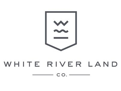 White river Land Real Estate Logo design