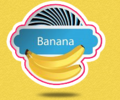 Food & Beverage industry logo design - Banana