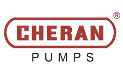 Pump Manufacturing company logo design - Cheran