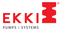 Pump Manufacturing company logo design - EKKI
