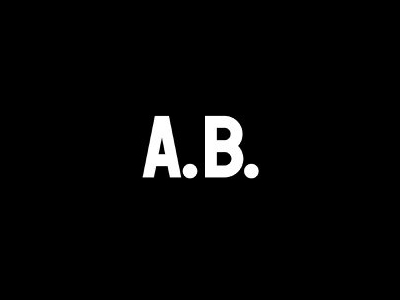 A.B. Influencer Logo Design