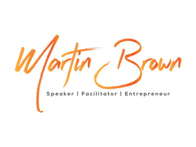 Martin Brown-Influencer Logo design